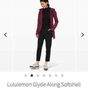 Glide along soft shell jacket